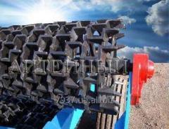 Катки зубчато-шпоровые гидрофицированные КЗШ-6Г