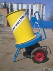 Universal grinder for farms.