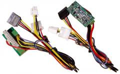 The ATX power supply with an entrance + 12B of a