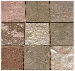 Slate a tile facing in Kiev