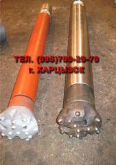 Pneumatic impact tool for drilling of wells the