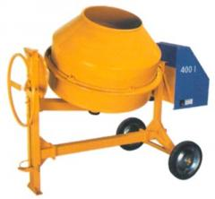 NT 400 concrete mixer