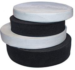 Elastic band for clothes of 1,2 cm black
