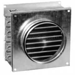 The water channel heater for round air ducts