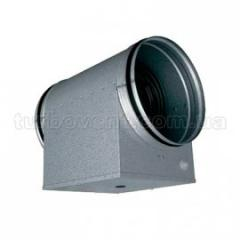 Electric channel heaters for round channels on