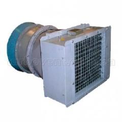 Electroheater with the SFOO axial fan