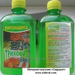 Trikhodermin of 1 l biological protection of