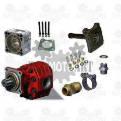Hydraulics for tractor units