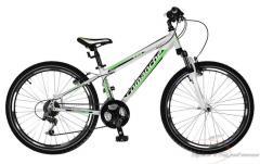 """Велосипед ARECO Белый-зеленый рама 12,5"""""""