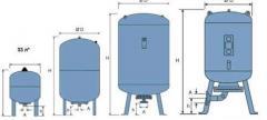 Мембранные баки (гидроаккумуляторы) для систем