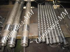 Screws for extruder