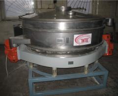 Vibrosieve high-frequency for plaster sifting