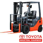 Fork truck Toyota