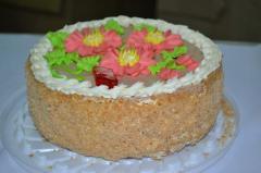 Кондитерские изделия оптом Торт «Киевляночка»