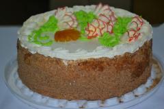 Кондитерские изделия оптом Торт «Сливочный»