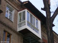 Ремонт балконов от А до Я