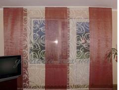 Японські штори, дизайн, пошивши