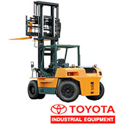 Fork Japanese lift truck of Toyota