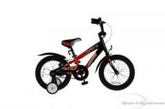 """Велосипед MOTO W16 Черный-красный рама 8"""""""