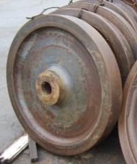 Preparation of a gear wheel