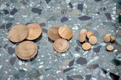 Заглушка деревянная