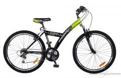 Велосипед Comanche ONTARIO FLY Зеленый-черный рама