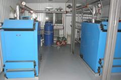 Boiler room block and modular