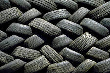 Second-hand sale of the tire wholesale