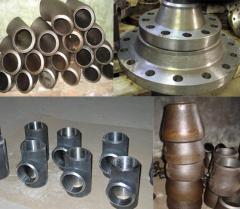 Детали трубопроводов низкого и высокого давления