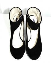 Туфли замшевые женские. Дизайнерская обувь от