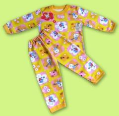 Pajamas for the girl Artikul 060-14