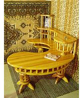 Стол компьютерный деревянный