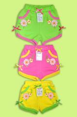 Shorts for the girl Artikul 960-15