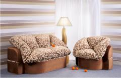Beskarkasny upholstered furniture Ivanna