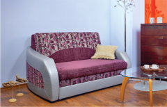 Upholstered furniture on a metal framework of