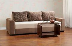 Upholstered furniture on a wooden framework the