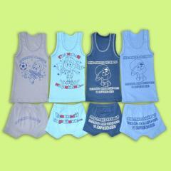 Linen set for boys of 1043-20