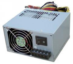 The ATX power supply with an entrance +36... 72B