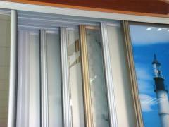 Алюминиевые раздвижные системы для шкафов-купе