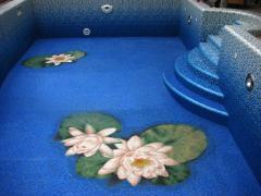 Pools concrete. Mosaic and film pools. Zaporizhia
