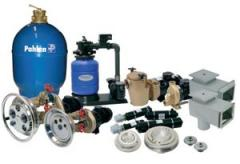 Equipment for pools. Sale and installation of
