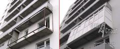 Расширение и пристройка балконов