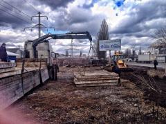 Дорожный плиты, бетоные армированные б\у