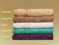 Турмалиновое Бамбуковое полотенце 70*140...