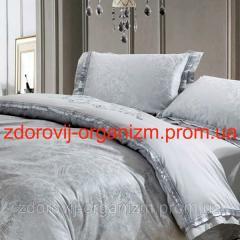 Турмалиновое шелковое постельное белье с...