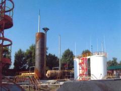 Резервуар стальной РВС-400 куб.м.