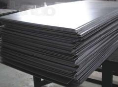 Titanium plate of VT1-0, 25h500h800