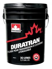 Transmission oils for the Petro-Canada Duratran