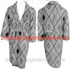 Турмалиновый халат с мериносовой шерстью и...