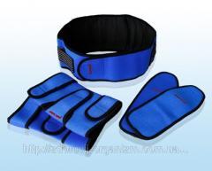 Турмалиновый комплект синий (накладка на...